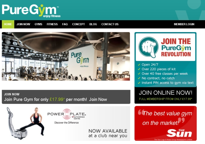 puregym homepage